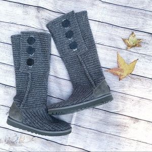 UGG Classic Cardy Gray Tall Boots